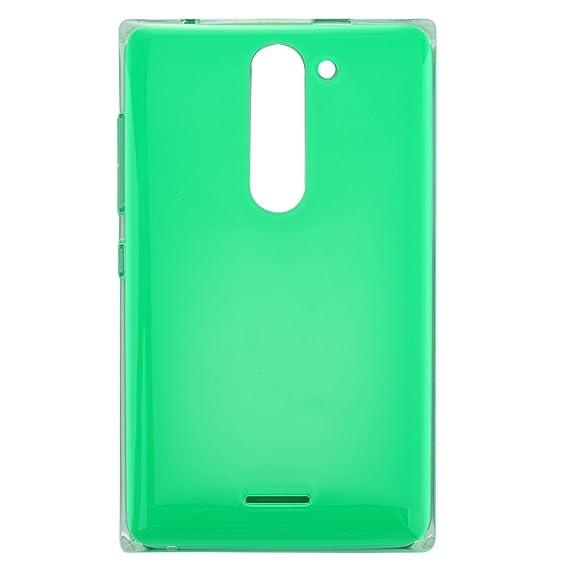 new arrivals 177bc b0a05 Amazon.com: JIXIAO Dual SIM Battery Back Cover for Nokia Asha 502 ...