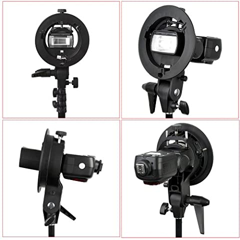 Neewer 2 Pieces S-Type Bracket Holder with Bowens Mount for