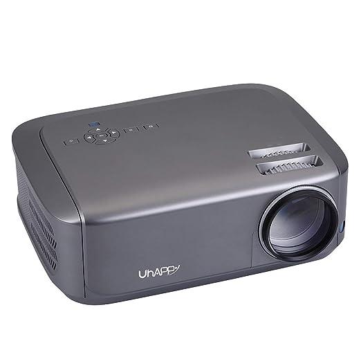 RUNNA Durable U68 Solo LCD Panel 1080P LED HD Mini proyector con ...