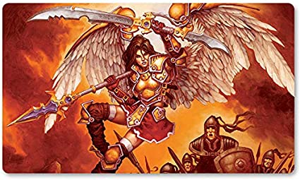 Alfombrilla de Juego para Juegos de Mesa de 60 x 35 cm de Yugioh Pokemon Magic The Gathering, de Serra-Advocate: Amazon.es: Oficina y papelería