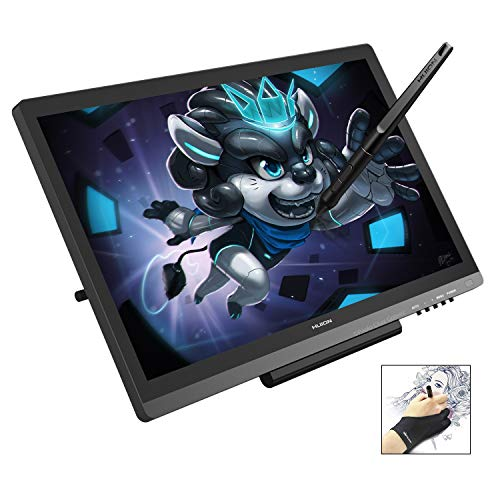 Huion KAMVAS GT-191V2 Drawing Tablets with IPS Screen 19.5 Inch 8192 Levels Pen Display for Windows and Mac PC