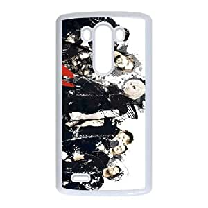LG G3 Cell Phone Case Covers White Kontrust Phone cover U8491155