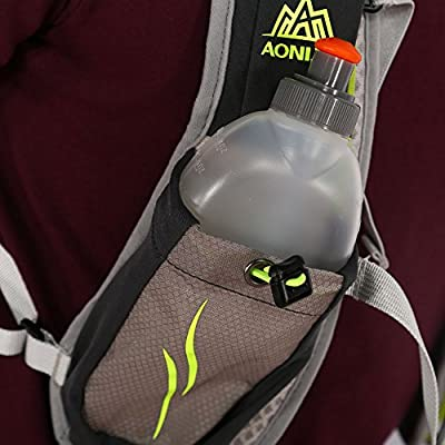 Water Bottles for Running Hydration Belt 170ml BPA-Free Leak-Proof Pull-top Plastic Sport Water Bottle Practical for Lunchboxes or Backpacks