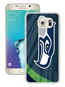 Hot Sale Samsung Galaxy S6 Edge Plus Case ,Unique And Durable Designed Case With Seattle Seahawks 3 white Samsung Galaxy S6 Edge+ Cover Phone Case