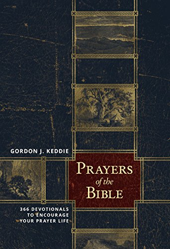Prayers of the Bible: 366 Devotionals to Encourage Your Prayer Life cover