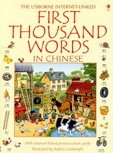 The Usborne Internet-Linked First Thousand Words in Chinese (Chinese Edition)