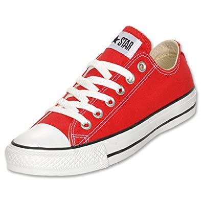Converse All Star Chuck Taylor Ox Scarpe Sneaker Red m9696