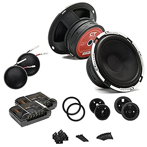 CT Sounds Meso 6.5 Inch Component Speaker Set (Car Speakers)