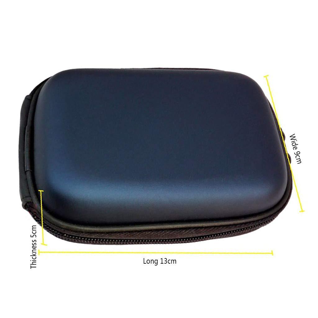 Funda para c/ámara Canon G9X G7 X G7X Mark II SX730 SX720 SX710 SX700 SX610 SX600 N100 SX280 SX275 SX260 SX240 S130 S120 S110 azul