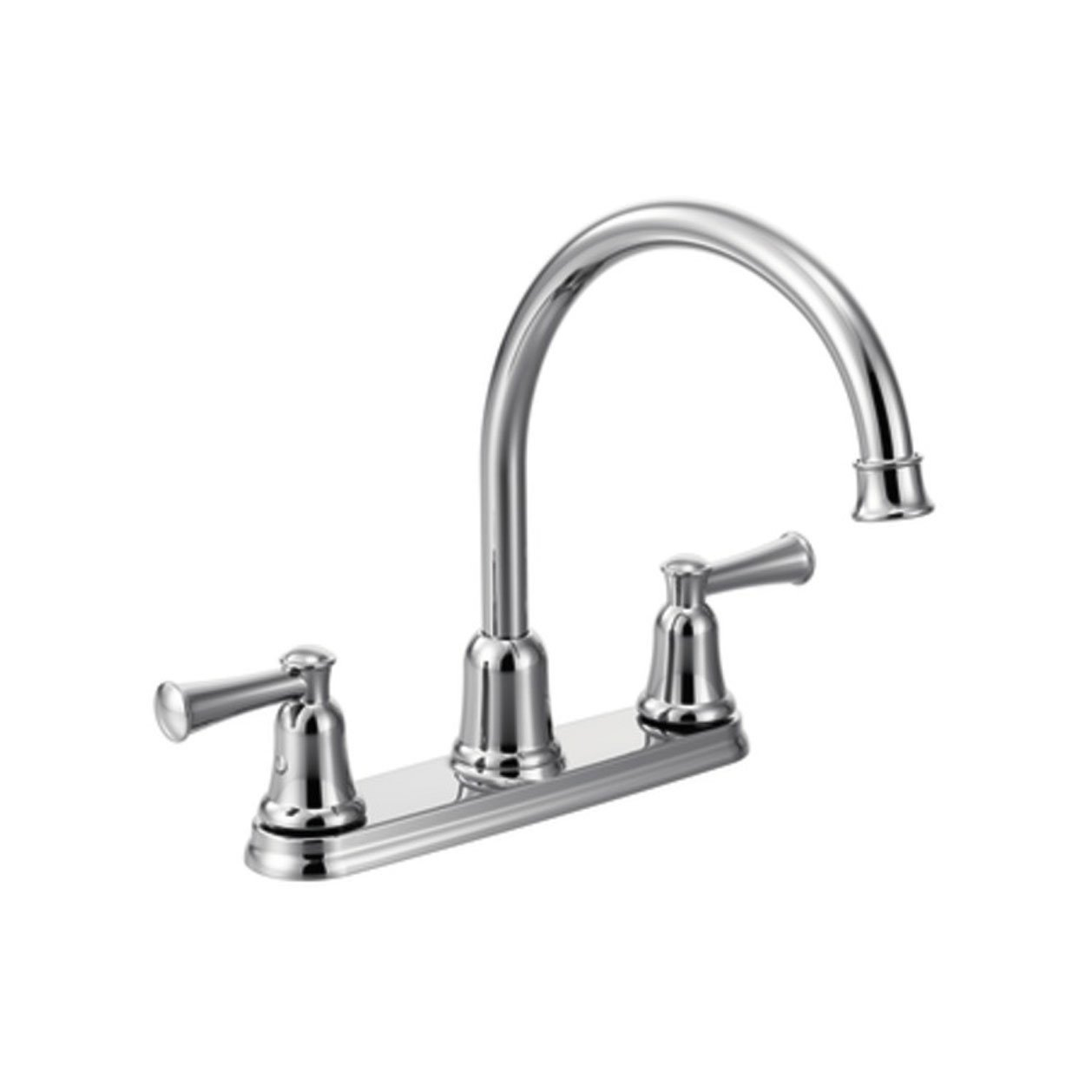 Cleveland Faucets CA41611 Capstone High-Arc Spout Two-Handle Kitchen ...