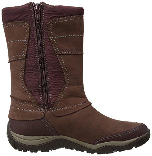 Rot Burgundy Dewbrook Slouch WoMen WTPF Merrell Apex Boots Zip PxBHaqv