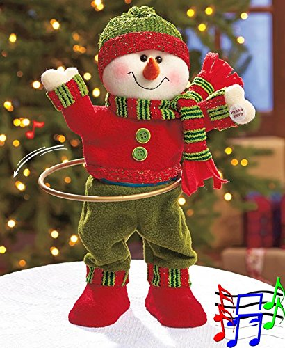 Holiday Singing, Hula Hooping Characters - Character Snowman Shopping Results