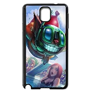 Samsung Galaxy Note 3 Cell Phone Case Black League of Legends Pool Party Ziggs LM5663695
