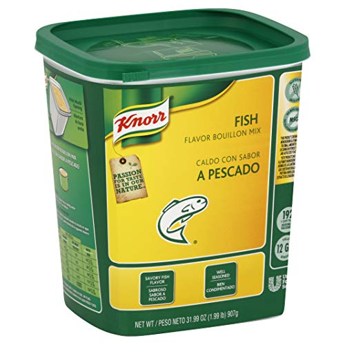 Knorr Bouillon Base Fish 1.99 lbs, Pack of -