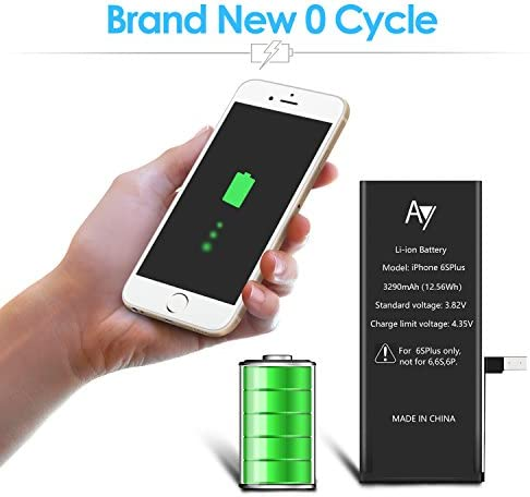 Adhesive 3100mAh Li-ion Battery 0 Cycle and Instructions iHWG For ...