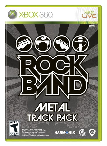Rock Band: Metal Track Pack - Xbox 360 (Xbox 360 Art Of War Controller)