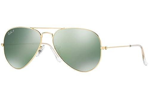 0a8f72b4d5 Amazon.com  Ray-Ban Aviator Large Metal Sunglasses - Polarized ...