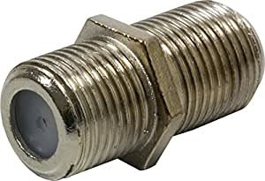 GE 23203 Cable Extension Adaptor Connects Two Coaxial Video Cables