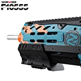 Toy, Fun, Game, Worker F10555 3D Printing Top Rail Professional Toy Gun Accessories for Nerf N-Strike Longshot CS-6/Zombie Longshot CS-12, Children, Kids, Play