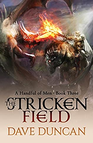 book cover of The Stricken Field