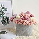 Souiey-shop-1Pcs-29cm-Artificial-Dandelion-Flower-Silk-Hyacinth-Flower-Wedding-Decoration-for-Home-Party-Hotel-Garden-DecorationsMilky-White