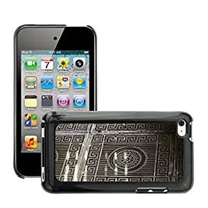 Print Motif Coque de protection Case Cover // M00153810 Patrón Paul metal forjado // Apple ipod Touch 4 4G 4th