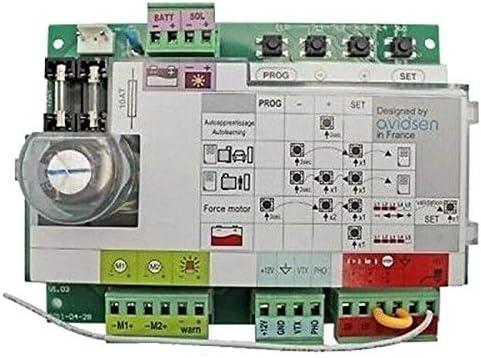 Control de puerta corredera de 12 V, función de Pforte, autoaprendizaje, 12 V.: Amazon.es: Bricolaje y herramientas