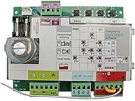 Control de puerta corredera de 12 V, función de Pforte ...