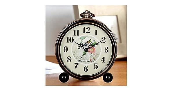 GYC . Reloj de Escritorio - Reloj Despertador Creativo Mudo ...