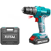 BATTERY IMPACT DRILL WITH 2 BATTERIES TOTALTOOLS TDLI20012