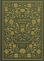 ESV Illuminated Bible, Art Journaling Edition (Hardcover, Green)