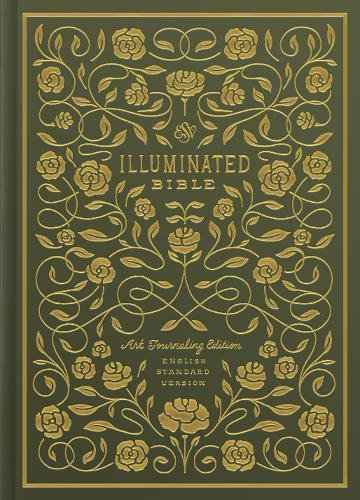 ESV Illuminated Bible, Art Journaling Edition (Hardcover, Green) from Crossway Books