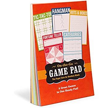 Amazon.com : Knock Knock Game Pad, 60 Sheets : On The Go Game Pad ...