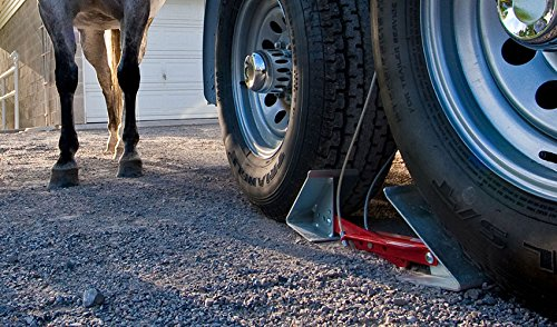 Fastway ONEstep Wheel Chock Double Pack For Tandem Axle Trailers and RVs 84-00-4840 --16 Inches to 24 Inches Long -- QTY 2 by Fastway (Image #5)