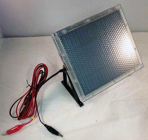 Universal Power Group 12-Volt Solar Panel Charger for 12V 5Ah Alarm, Medical or Genesis Batttery ()