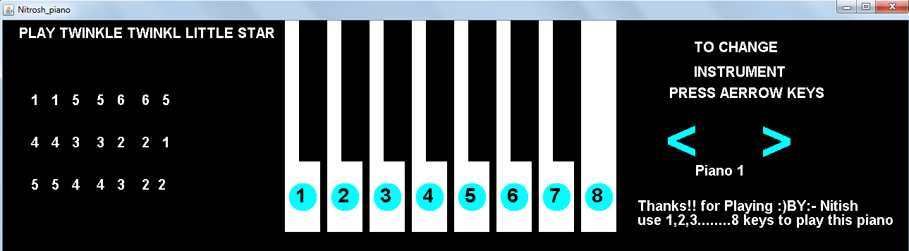 Piano for the PC with more than 300 instruments  [Download]