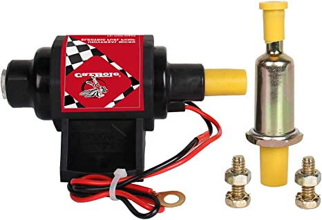 Universal Electric Fuel Pump Carburetor 12V Applications 42GPH Gasoline 2-3.5PSI