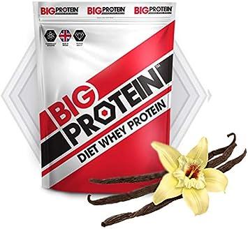 Proteína en polvo 100% whey, perfecta para aumentar masa ...