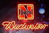 Desung Brand New 14''x10'' B udweiser Beer Sports Team NC Neon Sign (Various sizes) Bar Pub Man Cave Business Glass Neon Lamp Light DF31