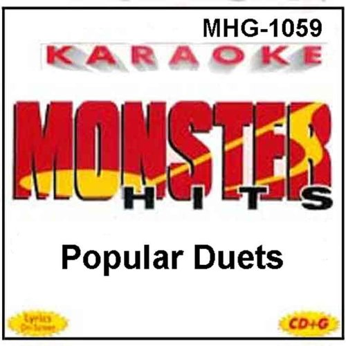 Monster Hits Karaoke #1059 - Popular Duets