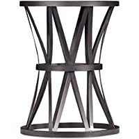 Hooker Chadwick Round End Table in Brown