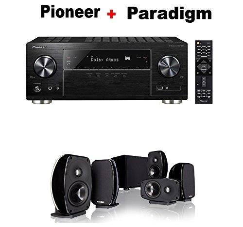 Pioneer-Audio-Video-Component-Receiver-black-VSX-932-Paradigm-Cinema-100-CT-51-Home-Theater-System-Bundle