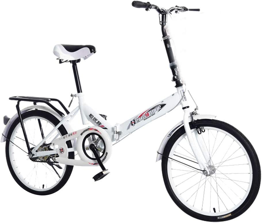 Bicicleta De Montaña Plegable Adulto Adolescentes Specialized Acero Alto Carbono Ciclocross Mini Ligero Portátil Trek Bicicleta De Carretera (20 Pulgadas)