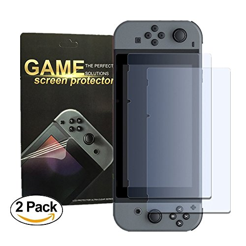 Nintendo Tempered Protector Antsplust Anti Fingerprint