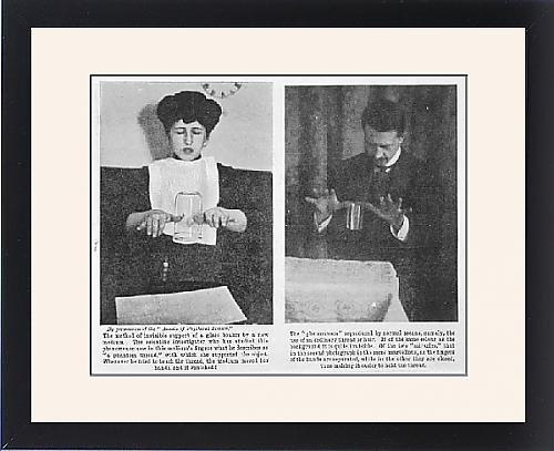 Framed Print Of Mediumship/marriott by Prints Prints Prints