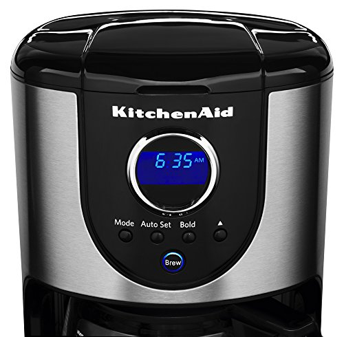 Kitchenaid Coffee Maker Stainless Steel Carafe : KitchenAid 12-Cup Glass Carafe Coffee Maker Best Coffee Pots
