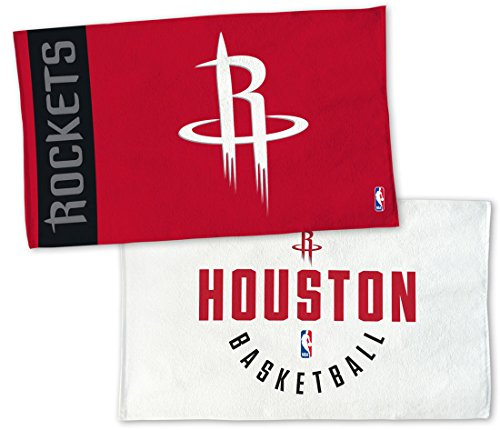 WinCraft Houston Rockets On Court Towel, NBA Locker Room Authentic Edition 22x42 inches by WinCraft