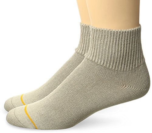 inding Rayon from Bamboo Quarter 2 Pack, Tan, Sock Size:10-13/Shoe Size: 6-12 (Gold Toe Bamboo)