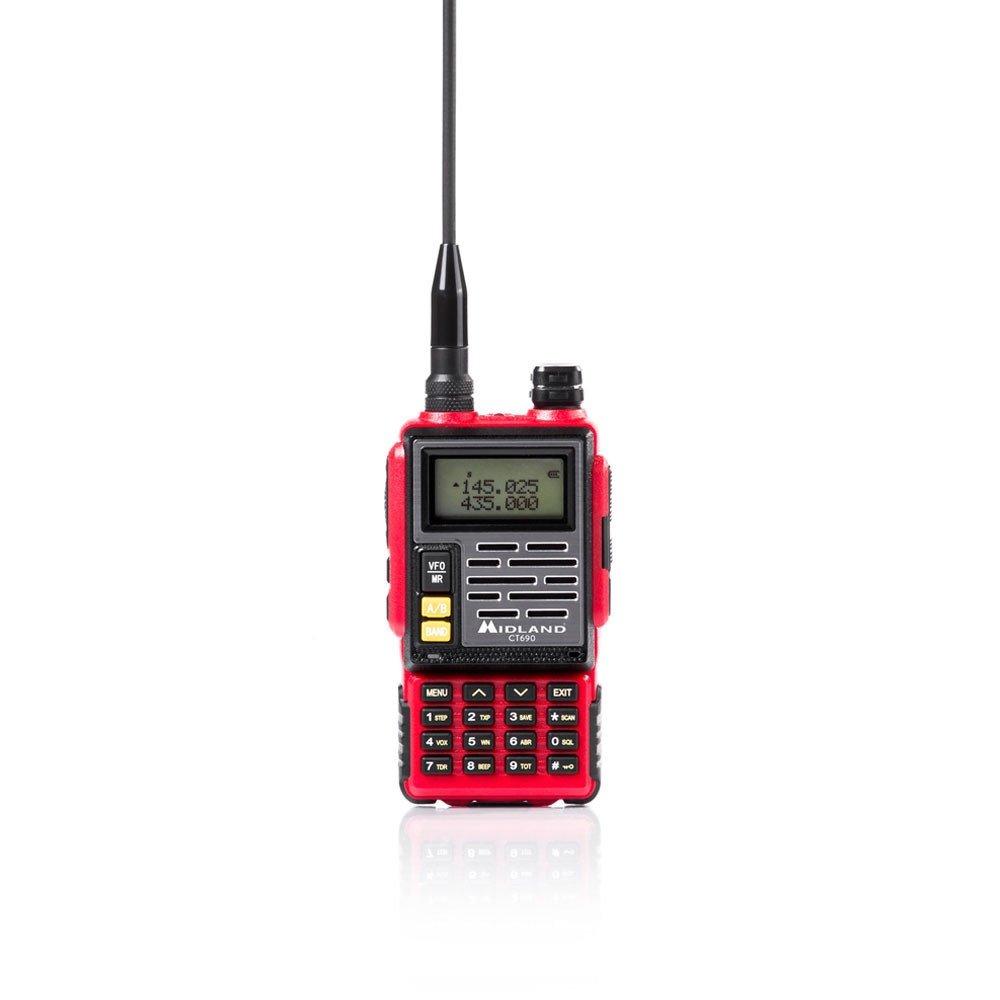 Midland CT690//Émetteur-R/écepteur VHF//UHF Rouge