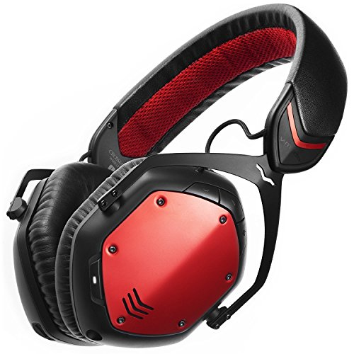 - V-MODA Crossfade Wireless Over-Ear Headphone - Rouge (Renewed)